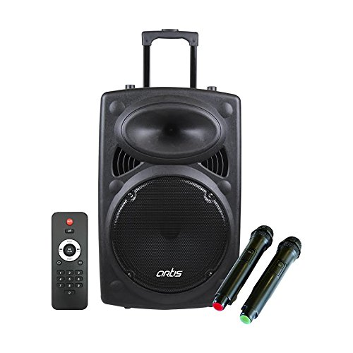 Black Portable Wireless Bluetooth Speaker Rechargeable+Call,FM,TF Card USB AUX